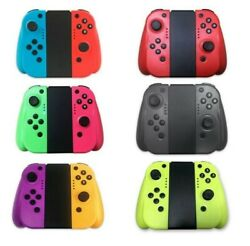 For Nintendo Switch Joy-Con (L/R) Bluetooth Wireless Controller Set With Grip $38.99
