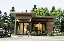 Custom House Home Building Plan 2 Bedroom amp; 2 Bathroom with AUTO CAD File $9.99
