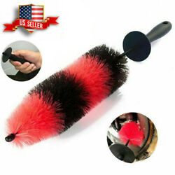 Car Wheel Brush Rims Tire Seat Engine Wash Cleaning Tool Auto Detailing Tool 17quot; $9.89