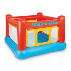 Intex Inflatable Jump O Lene Playhouse Trampoline Bounce House for Kids Ages 3 6 $44.99