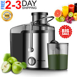 Best Juicer Centrifugal Machine Commercial Wide Mouth Extractor Fruit Vegetable $65.99