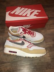New Nike Air Max 1 Inside Out Club Gold Black Size 7 858876 713 $103.05