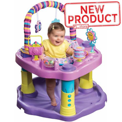 Baby Girl Bouncer Seat Toddler Activity Center Toy Bounce Girls Learning Play $78.19