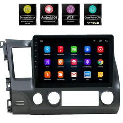 For Honda Civic 2006 2011 Android 9.1 Stereo Radio Car GPS 10.1quot; Touch Screen $168.99