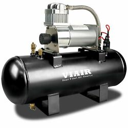 Viair 150 PSI 2-Gallon Tank 12V 280C Pewter Air Compressor Source Kit for Tires $199.99