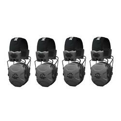 Walkers XCEL 500BT Active Shooting Protection Equipment Earphone Muff 4 Pack $417.99