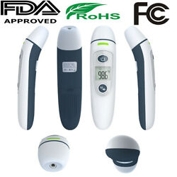 No Touch Non-Contact Forehead Ear Digital Infrared Thermometer Medical Grade USA $19.99
