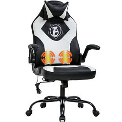 Gaming Chair Computer Chair Desk Chair PU Leather Adjustable Office Chair  $109.99