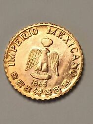 10 FOR 1 PRICE 1865 MINI MAX PESO GOLD COINS 1 2 GRAM BULLION FREE SHIPPING $8.95