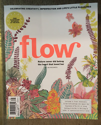 FLOW Magazine FREE Illustrated NOTEBOOK Included April May 2020 NEVER BETRAY New $19.99