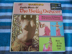 Exotic Belly Dancer Music LP Stereo Record NM Audio Fidelity 6154  $12.99