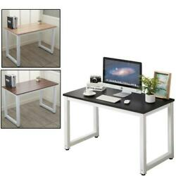 Home Office Computer Desk PC Laptop Table Metal Leg Workstation Study Furniture $105.99