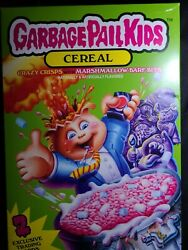 Garbage Pail Kids Cereal + 2 Exclusive Trading Cards (Officially Licensed) $22.95