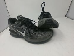 Nike Max Air Torch 4 Running Athletic Shoes Mens 8.5 Gray Black SN 343846 012