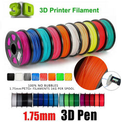 3D Printer Filament ABS 1.75mm plastic consumables material filament  1kg2.2lbs $45.97