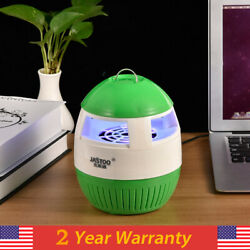 LED Bug Zapper Light Bulb Electric Mosquito Bugs Flies Insect Killer lamp Desk $10.99