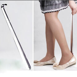 Long Shoe Horn Reach Metal Flexible Handle Shoehorn Remover Aid Slips CO $7.09