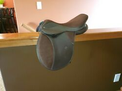 Thorowgood Saddle - Wide 16 Inch. Suede Seat. Excellent Used Condition $300.00
