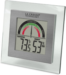 La Crosse Technology Digital Thermometer Hydrometer With Comfort Meter $19.99