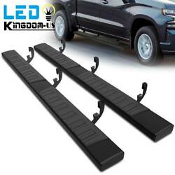 6quot; Running Boards for 19 21 Silverado Sierra 1500 Crew Cab Nerf Bars Side Steps $169.95
