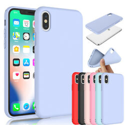 For iPhone 11 Xs Max XR SE 2 7 8 6S Plus Silicone Case Cute Cover Shockproof $4.98