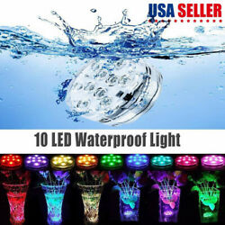 Submersible LED RGB Bulb Underwater Light Fountain Swimming Pool Party Lamp US $8.88