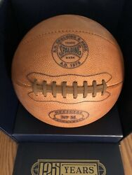 Limited Edition 125th Anniversary Spalding Official NBA Basketball Super RARE $649.99
