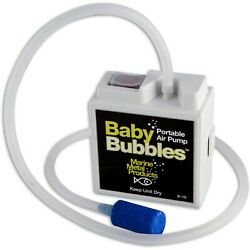 BUBBLER MARINE METAL PRODUCTS BABY BUBBLES PORTABLE AIR PUMP live well B 18 $10.99