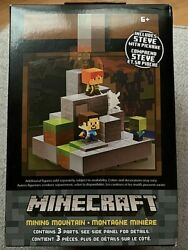 Minecraft Cave Biome Collection 1 Mining Mountain Steve With Pickaxe SUPER RARE $35.98