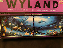 Ceaco Wyland Environmental Marine Life Artist 2 in 1 Puzzles, 700 Pcs New 1993 $29.95