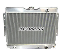 281 ALUMINUM RADIATOR FOR 1960-65 CHEVY IMPALA BEL AIR BISCAYNE 3.8 4.6 5.7 3ROW $132.00