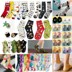 Harajuku Funny Sushi Socks Creative Cartoon Socks Women Novelty Girl Cute Socks $2.71
