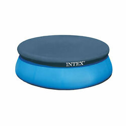Intex 8 Foot Easy Set Above Ground Swimming Pool Vinyl Round Cover Tarp $46.00