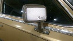 87-88 Cadillac Fleetwood RWD Right Passenger Heated Door Mirror (Cable) $150.00