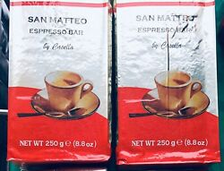 San Matteo Espresso Caffè Coffee Grounds 2 Packs 250g pack Product of Italy $20.00