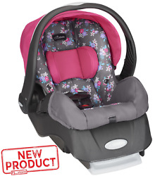 Baby Girl Infant Car Seat Safe Travel Support Comfort Lightweight On the Go Pink $98.76