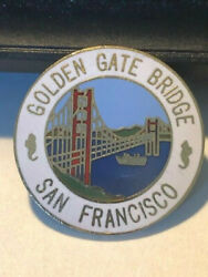 Golden Gate Bridge San Francisco Enamel Pin $9.99