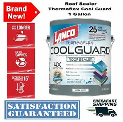 Seal Rubber Roof Coating 1 Gal Coolguard RV Home Protect Waterproof Paint Sealer $59.88