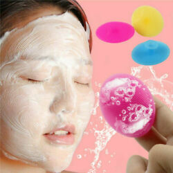 Silicone Face Brush 3 Pack Cleansing Scrub Skin Blackhead Pore Cleaner Set US $5.99