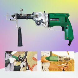 Electric Hand Rug Tufting Gun Portable Carpet Weaving Rug Machine Cut amp;Loop Pile $305.99