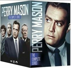 Perry Mason: The Complete Series Seasons 1 9 DVD 72 Disc Box Set New Sealed $117.50