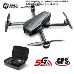Quadcopter Holy Stone HS720 Foldable GPS Drone 5G 4K FHD FOV 110° Wi-Fi Camera $379.00