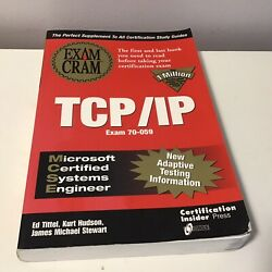 MCSE: TCP IP for NT Server 4 Study Guide Exam 70 059 $7.99