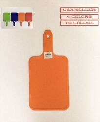 """1 PC 8"""" X 6"""" PLASTIC CUTTING BOARD WITH 4"""" HANDLE $4.99"""