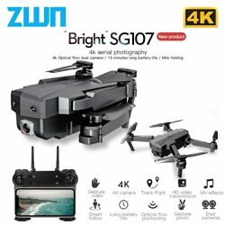 Drone Camera With 4K WIFI FPV HD 50x Zoom lens FollowMe Gps Foldable Quadcopter $50.99