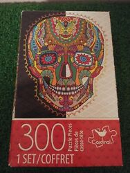Cardinal Industries Day of the Dead Skull - 300 Piece Jigsaw Puzzle  $10.00
