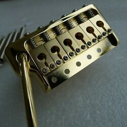 New Brass PRS Style Tremolo Bridge Complete Install Kit For PRS Custom CE Gold $59.99