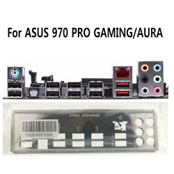 I O IO Shield For ASUS 970 PRO GAMING AURA Motherboard Backplate Bracket NEW $13.92