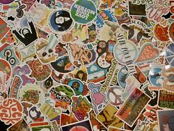 Hippie Stickers Lot 10 or 40 pcs Skateboard Scrap booking QUICK SHIP $2.99