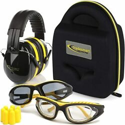 TRADESMART Shooting Range Earmuffs and Glasses Safety Eye and Ear Protect M532 $500.00